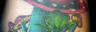 Tatuajes de hongos